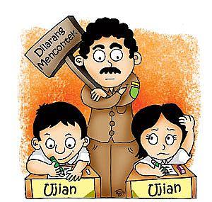 karikatur-ujian-nasional